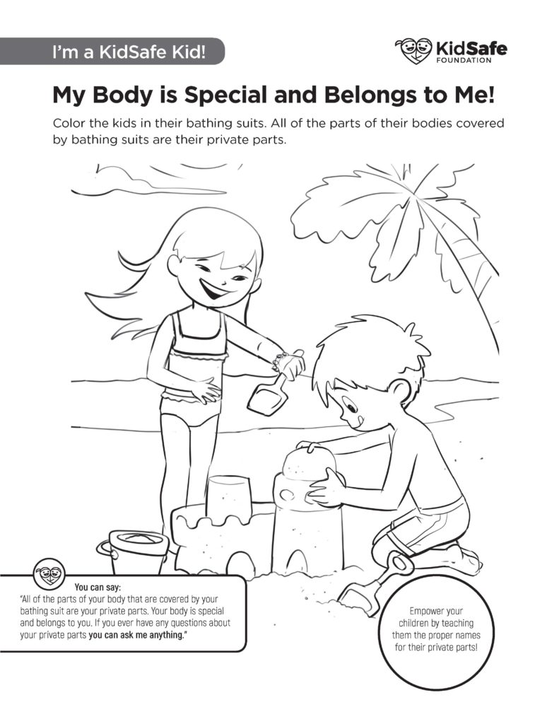 KidSafe Activity Sheet 7